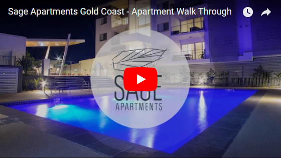 Sage Apartments Gold Coast Walkthrough Video